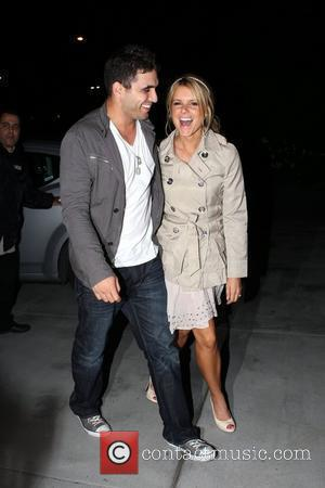 'The Bachelorette' star Ali Fedotowsky with Roberto...