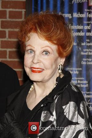 Arlene Dahl  The opening night of 'Dame Edna and Michael Feinstein's All About Me' at Henry Miller's Theatre -...