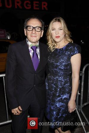 Elvis Costello and Diana Krall The opening night of 'Dame Edna and Michael Feinstein's All About Me' at Henry Miller's...