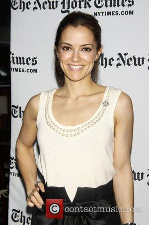Rebecca Budig All My Children interview, day three of the New York Times Arts and Leisure weekend held at the...