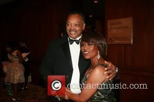 Reverend Jesse Jackson and Alfre Woodard  Alvin Ailey Opening Night Gala Party at the Hilton New York Grand Ballroom....