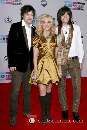 Reid Perry, Kimberly Perry, and Neil Perry of The Band Perry 2010 American Music Awards - Arrivals held at the...