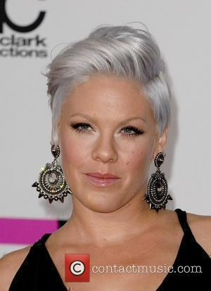 Pink aka Alecia Moore 2010 American Music Awards (AMAs) held at the Nokia Theatre L.A. Live - Arrivals Los Angeles,...