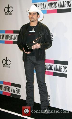 Brad Paisley 2010 American Music Awards (AMAs) held at the Nokia Theatre L.A. Live - Press Room Los Angeles, California...