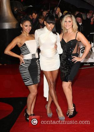 *file photos* Sugababes star Amelle Berrabah has been charged with drink driving  Amelle Berrabah, Jade Ewen, Heidi Range of...