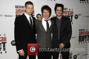 Stark Sands, Green Day and John Gallagher
