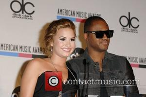 Demi Lovato and Taio Cruz 2010 American Music Awards Nominations held at the JW Marriott  Los Angeles, California -...