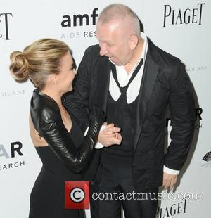 Jean Paul Gaultier and Kylie Minogue