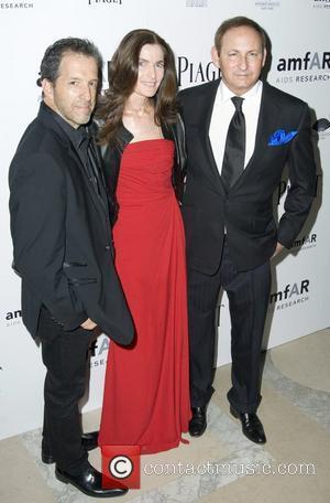 Kenneth Cole, Jennifer Creel and John Dempsey  2010 amfAR New York Inspiration Gala at The New York Public Library...