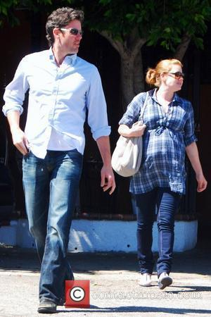 Darren Le Gallo and Amy Adams seen leaving the El Campadra restaurant after having lunch together. Los Angeles, California -...