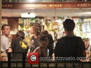 Amy Winehouse was spotted at the Good Mixer pub in Camden where she stayed drinking with friends until 1am London,...