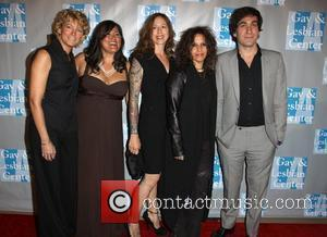 Kelley Lynch, Annie Goto, Shannon Del, Linda Perry and Brent Bolthouse