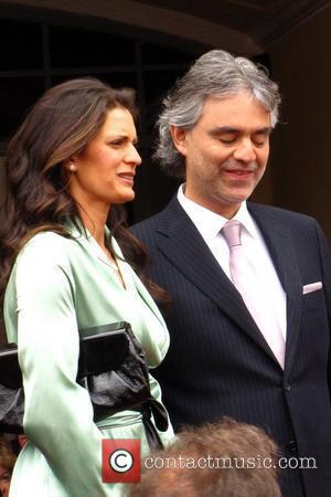 Veronica Berti and Andrea Bocelli  The Hollywood Walk of Fame Star Ceremony for Andrea Bocelli. Hollywood, California - 02.03.10