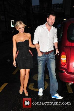 Gemma Merna and her boyfriend Andrew Collinge and the Closet Summer Showcase at the Andrew Collinge Salon Liverpool,, England -...