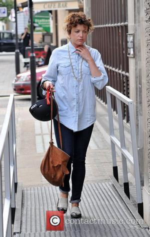 Annie Mac arriving at the BBC Radio 1 studios London, England - 15.06.10
