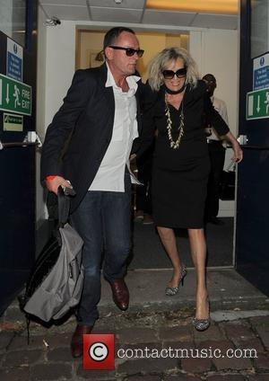 Annie Nightingale leaves the BBC Maida Vale studios, after celebrating 40 years on the radio station with a party. London,...