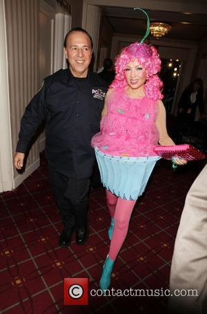 Tommy Mottola, Thalia Mottola 15th annual Bette Midler's New York Restoration Project's Hulaween at The Waldorf Astoria New York City,...