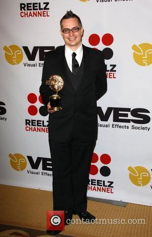 David Johnson 8th Annual VES Awards held at The Hyatt Regency Century Plaza - Press Room Los Angeles, California -...