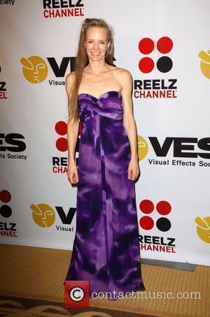 Suzy Amis 8th Annual VES Awards held at The Hyatt Regency Century Plaza - Press Room Los Angeles, California -...