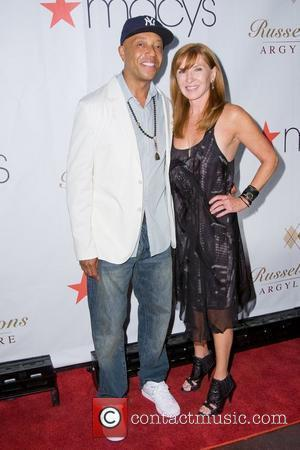 Russell Simmons and Nicole Miller