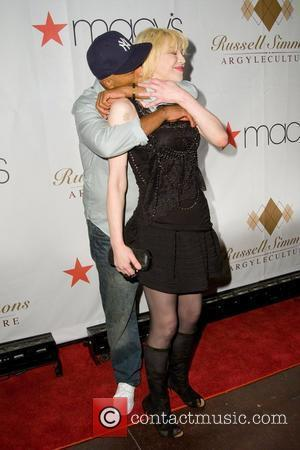Russell Simmons and Courtney Love