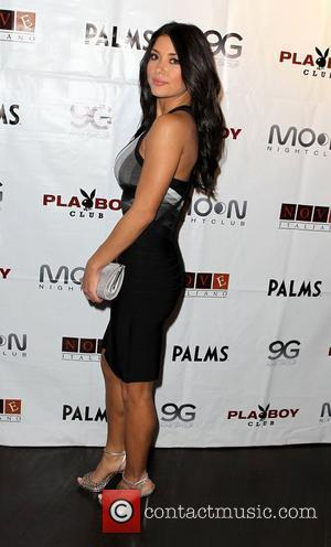 Arianny Celeste hosts The Official Ultimate Fighter Finale after party at Moon nightclub inside The Palms Hotel & Casino Las...