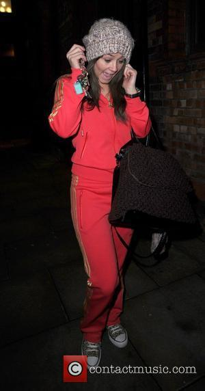 Brooke Vincent arrives at the Great John Street Hotel for an Art Deco Christmas Party.,  Manchester, England - 16.12.10