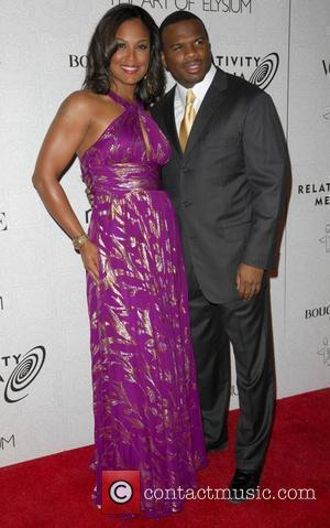 Laila Ali and Curtis Conway The 3rd Annual Art of Elysium Gala in Beverly Hills - Arrivals Los Angeles, California...