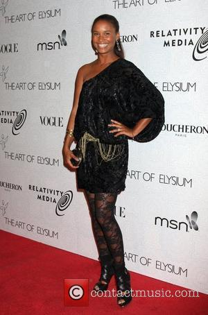 Joy Bryant The 3rd Annual Art of Elysium Gala in Beverly Hills - Arrivals Los Angeles, California - 16.01.10