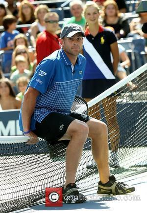 Andy Roddick and Billie Jean King