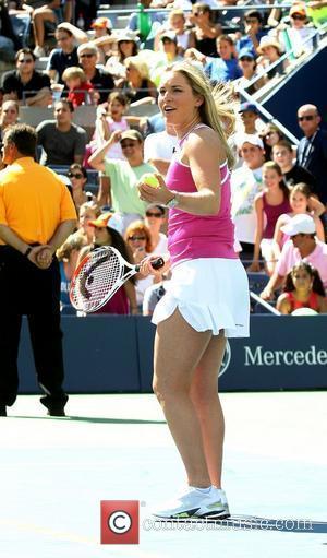 Lindsey Vonn 2010 US Open Arthur Ashe Kids Day held at USTA Billie Jean King National Tennis Center New York,...