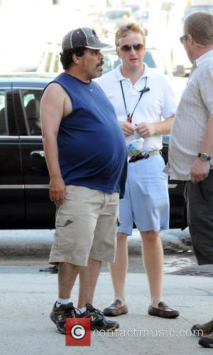 Luis Guzman on the set of the new film 'Arthur' New York City, USA - 09.07.10