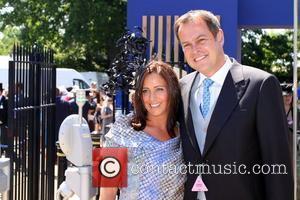 Peter Jones and his wife Tara Capp Royal Ascot ladies day Berkshire, England - 17.06.10