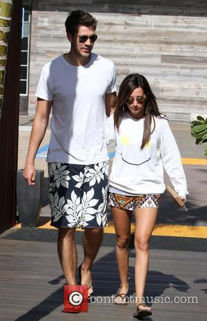 Ashley Tisdale, Her Boyfriend Scott Speer Out and About In Malibu