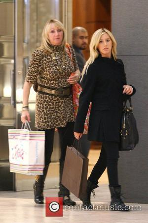 Ashley Tisdale shopping at Louis Vuitton with her mother, Lisa Tisdale Los Angeles, California - 10.12.09