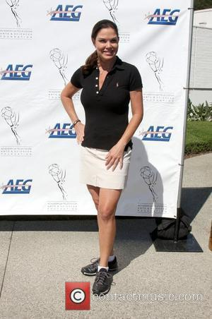 Paula Trickey attends the Academy of Television Arts & Sciences (ATAS) Foundation's annual Celebrity Golf Classic at a Private Country...