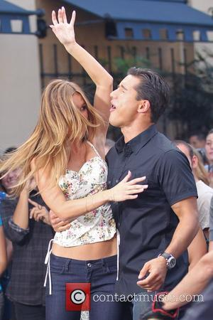 Audrina Patridge, Dancing With The Stars and Mario Lopez