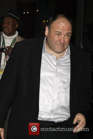 James Gandolfini Opening night of the Broadway production 'August Wilson's Fences' held at the Cort Theatre - Arrivals.  New...