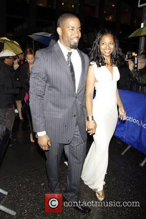 Michael Jai White and Courtenay Chatman  Opening night of the Broadway production 'August Wilson's Fences' held at the Cort...