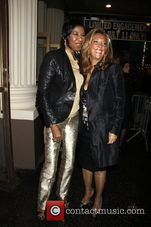 Natalie Cole and Denise Rich