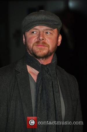 Simon Pegg Avatar - UK film premiere held at the Odeon Leicester Square. London, England - 10.12.09