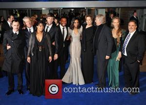 Zoe Saldana, James Cameron, Sam Worthington and Sigourney Weaver