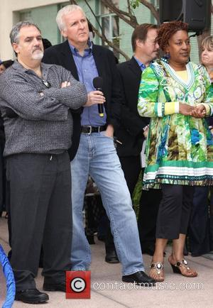 James Cameron, Jon Landau and Cch Pounder