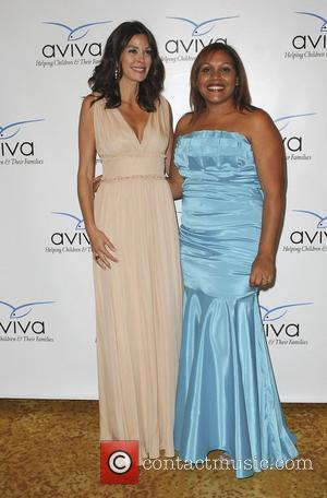 Teri Hatcher and guest The A Gala hosted by AVIVA Family and Children's Services at the Beverly Wilshire Four Seasons...