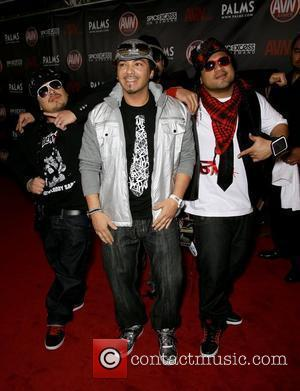 Baby Bash and The Stooie Brothers The 2010 AVN Awards held at The Pearl inside The Palms Resort Hotel Casino...