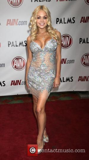 Jesse Jane The AVN Awards 2011 held at the Palms Casino Resort - Arrivals Las Vegas, Nevada - 08.01.11