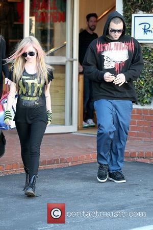 Avril Lavigne, Brody Jenner and Fred Segal