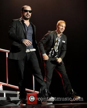 Brian Littrell and Backstreet Boys
