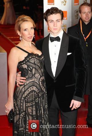 Sam Taylor Wood and boyfriend Aaron Johnson The Orange British Academy Film Awards (BAFTA Awards) held at the Royal Opera...