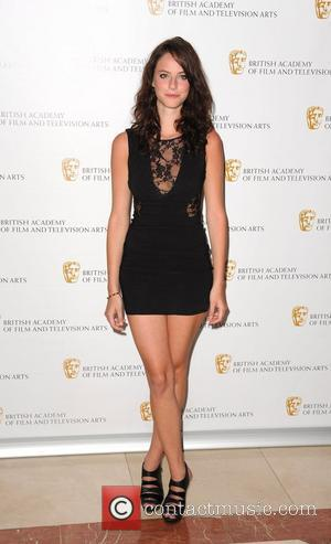 Kaya Scodelario British Academy Television Craft Awards held at the London Hilton. London, England - 23.05.10